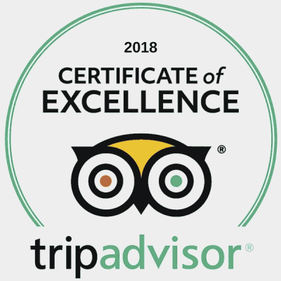 TripAdvisor 2018 Certificate of Excellence - Mackays Rooms Durness